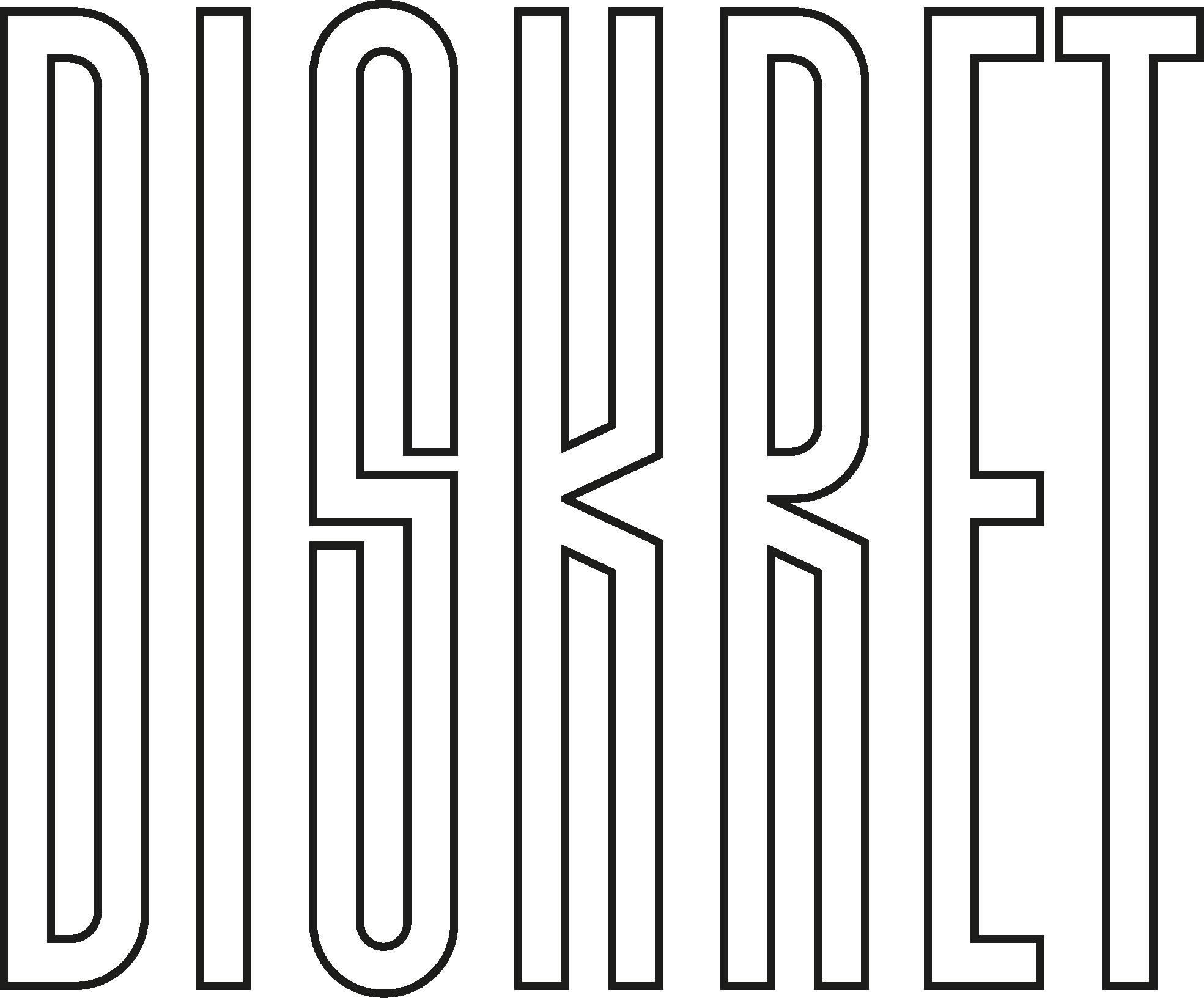 2016 Logo Diskret black